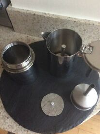 Cooker top coffee pot