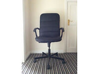 Ikea Torkel Swivel Chair Black