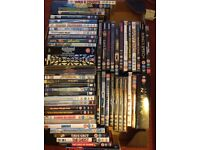 DVDs collection - films and HBO series