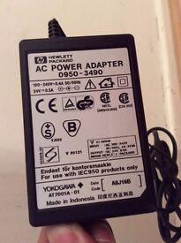 Hp printer original power cable for model deskjet