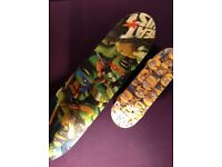 Ninja Turtle Skateboard with Mini Minion Skateboard