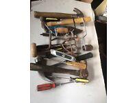 Used hand tools