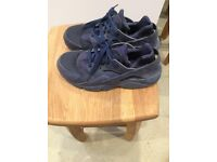 Nike air blue trainers size 6