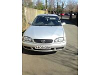 Toyota 5 door low mileage