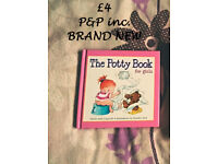 Potty book a girl BRAND NEW