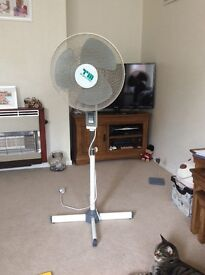 Oscillating fan in full working order