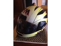 FM motorcycle crash helmet