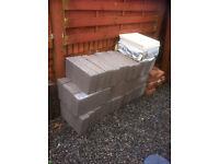 50 new 4 in concrete blocks for sale