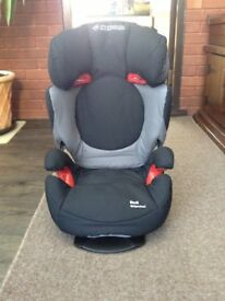 As New Maxi Cosy Rodi Air Protect Group 2 & 3 Car Seat in Black Origarmi