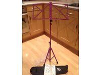 Music stand ( purple )