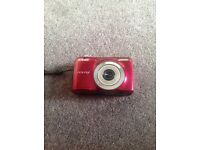 Nikon Coolpix Digital Camera (Red). Case & 2GB card included