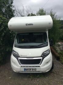 Elldis autoquest 180, 6 berth, U shaped lounge, drive on normal licence.