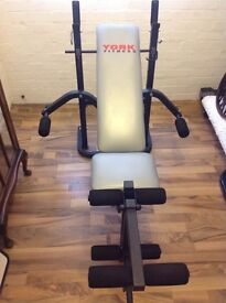 York Fitness Bench & Fly - Model 501 - As New