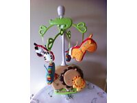 Fisher Price Musical Jungle Cot Mobile