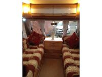 4 berth caravan,swift challenger 530se,just hitch up and go,with motormover