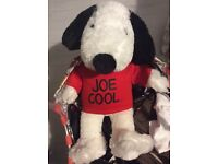 Snoopy with music and moving ears Build a Bear