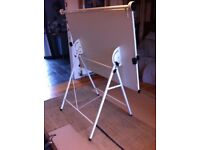A0 Drawing Board on folding metal stand