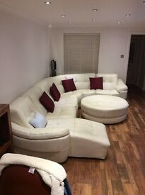 Leather suite 6 seats
