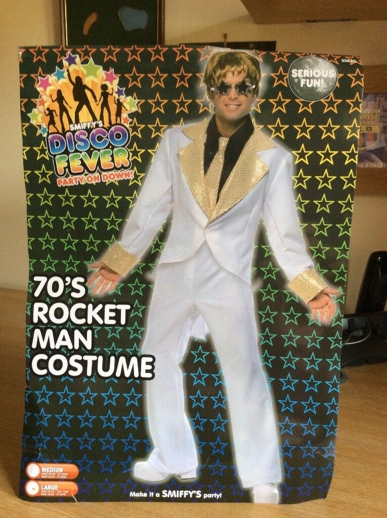Elton John Christmas Outfit.Smiffys Elton John Fancy Dress Costume In Bournemouth Dorset Gumtree