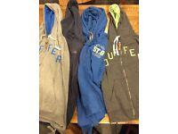 Four men's hooded tops sizes XL-XXL