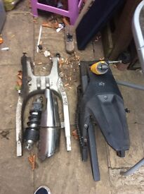 Yamaha r125 Honda hornet and typhoon parts