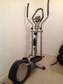 Cross trainer only used twice , no time to use due to busy life , comes from smoke free home ,£150