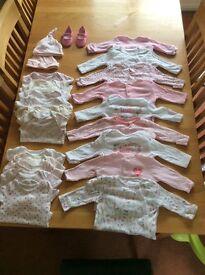 0-3 months clothing bundle