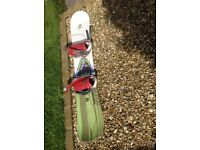 Two snowboards for sale, had little use