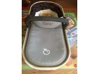 Carrycot for iCandy Peach in Black Jack