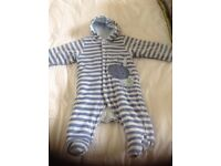 Marks and Spencer Baby Boy Snowsuit 3-6 months