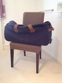 Large Blue Luggage Bag