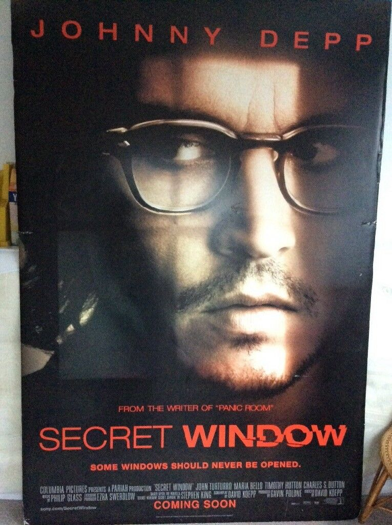 Johnny Depp very large film poster