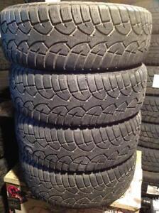 4 pneus d'hiver 195/60 r15 général altimax artic. 120$