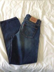 Levis 506 jeans straight leg 32/32
