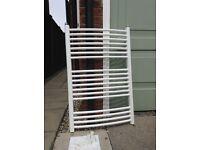 White heated towel rail 60 x 90cm