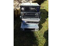 Car stereo x4 job lot ... variety of makes