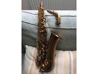 """CONN Connqueror 26m alto saxophone, with rare """"NEW YORK"""" neck"""