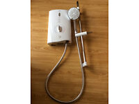 Mira Sport Max with Airboost Electric Shower 10.8KW White/Chrome