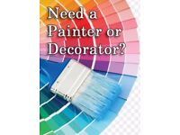 Painter and decorator available
