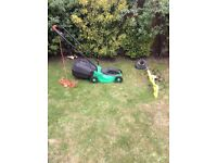 Lawn mower & strimmer