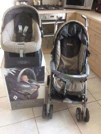 Mamas and Papas Pilko P3 Pushchair And Car Seat