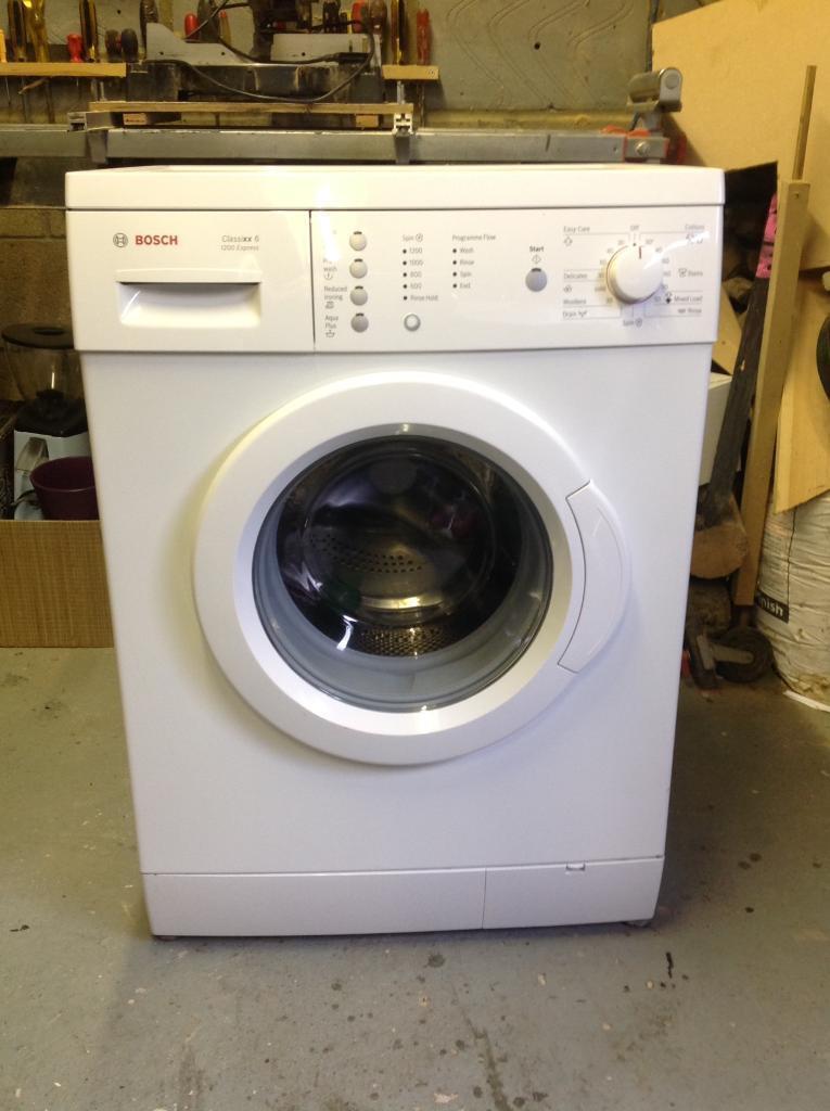 Bosch Washing Machine Classixx 6 1200 Express