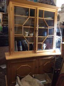 Lovely quality Beechwood cabinet/dresser