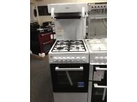 Beko high level grill 50cm gas cooker. £270 new/graded 12 month Gtee