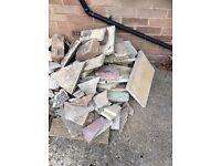 Broken slabs