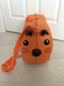 Children's pull along tiger suitcase (trunki style - however not actual trunki brand)