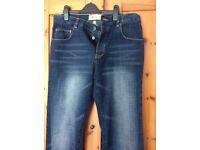 Blue denim jeans bnwt