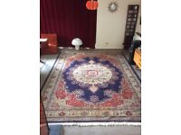 Persian Hand Knotted Kerman Carpet