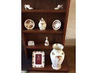 Collection of Royal Albert bone china