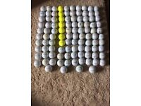 Pinnacle reclaimed golf balls
